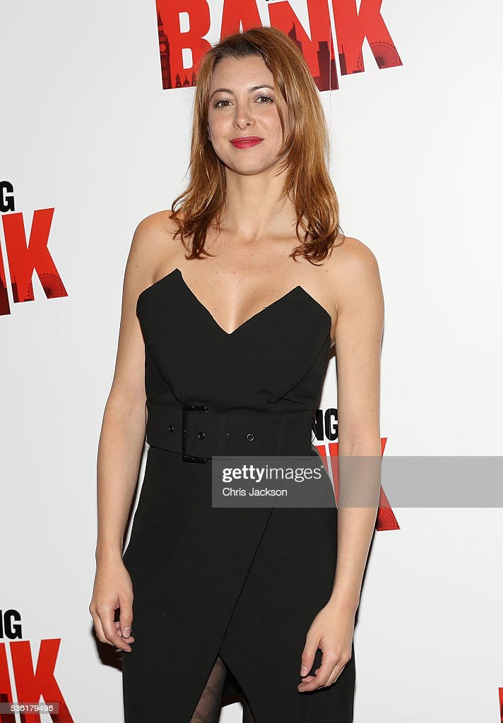 Actress Julie Dray attends the UK Gala Screening of 'Breaking the Bank' at Empire Leicester Square on May 31, 2016 in London, England.
