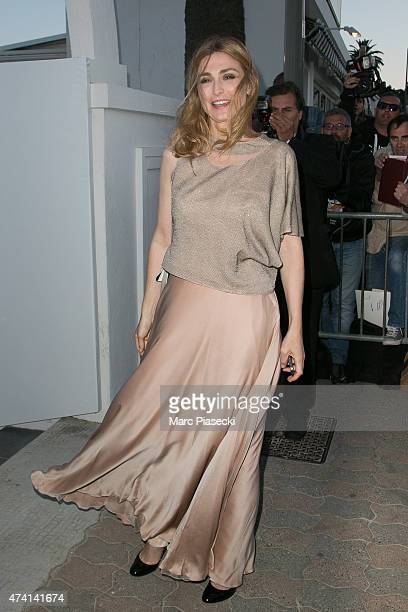 Actress Julie Gayet attends the 'CHANEL' dinner at 'Tetou' restaurant during the 68th annual Cannes Film Festival on May 20 2015 in Cannes France