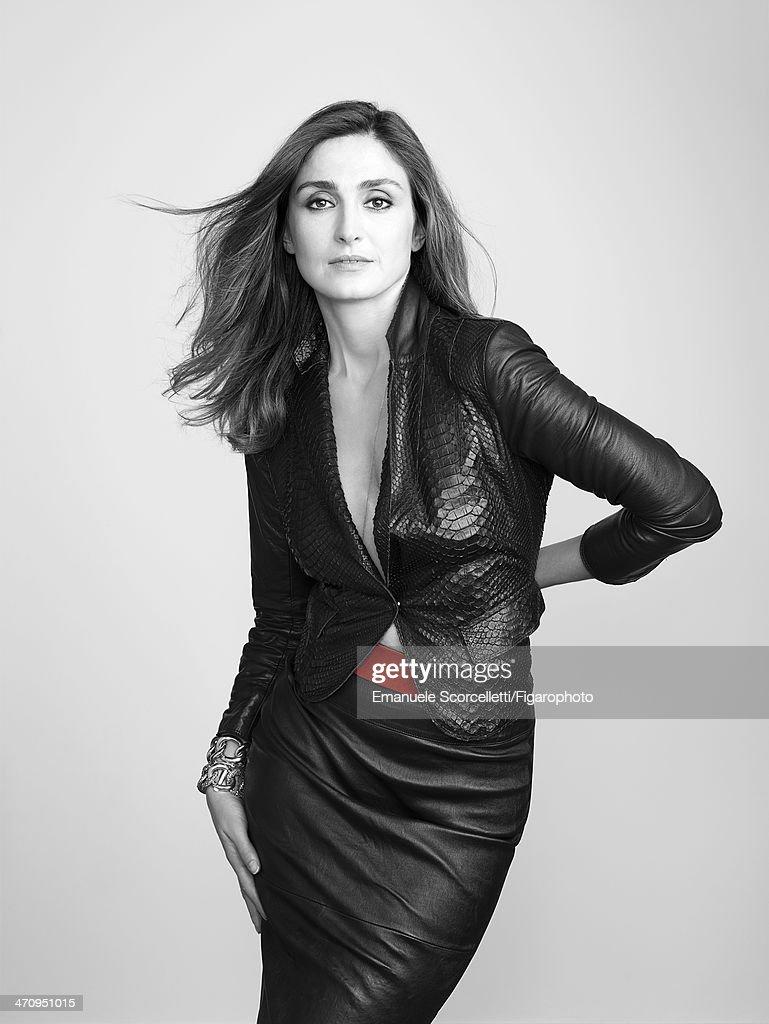 Julie Gayet, Madame Figaro, February 7, 2014