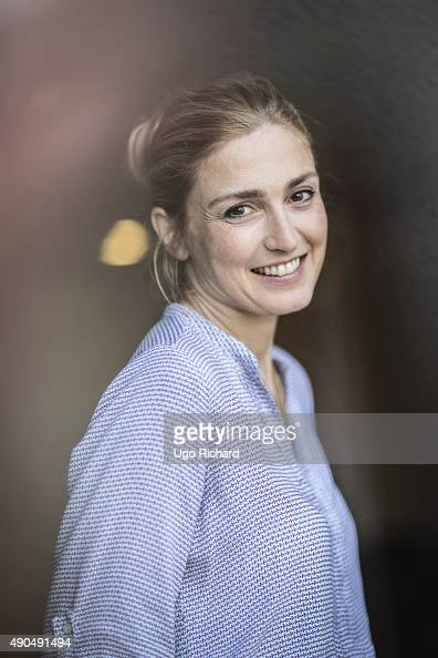 Actress Julie Gayet is photographed for Self Assignment on August 31 2015 in Angouleme France