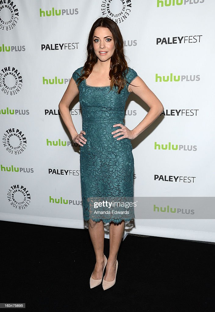 Actress Julie Gonzalo arrives at the 30th Annual PaleyFest: The William S. Paley Television Festival featuring 'Dallas' at Saban Theatre on March 10, 2013 in Beverly Hills, California.