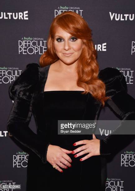Actress Julie Klausner attends Vulture Hulu's screening of 'Difficult People' on August 7 2017 in New York City
