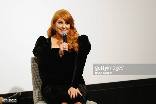 Actress Julie Klausner speaks onstage during Vulture Hulu's screening of 'Difficult People' on August 7 2017 in New York City