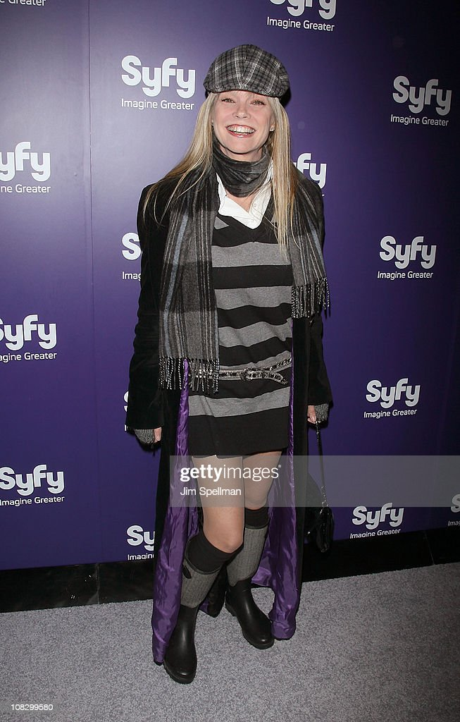 Actress Julie McCullough attends the 'Mega Python vs. Gatoroid' premiere at the Ziegfeld Theatre on January 24, 2011 in New York City.