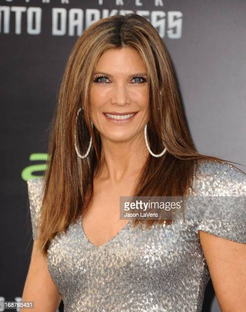 Actress Julie Moran attends the premiere of 'Star Trek Into Darkness' at Dolby Theatre on May 14 2013 in Hollywood California