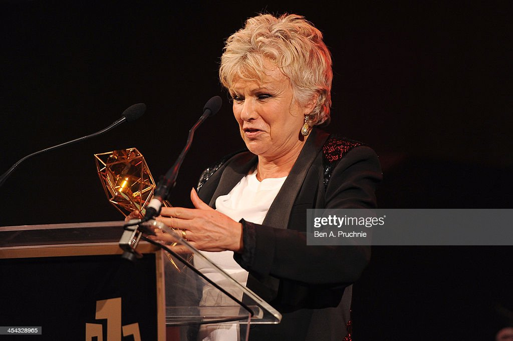 Actress Julie Walters receives the Richard Harris Award as she attends the ceremony for the Moet British Independent Film Awards at Old Billingsgate Market on December 8, 2013 in London, England.