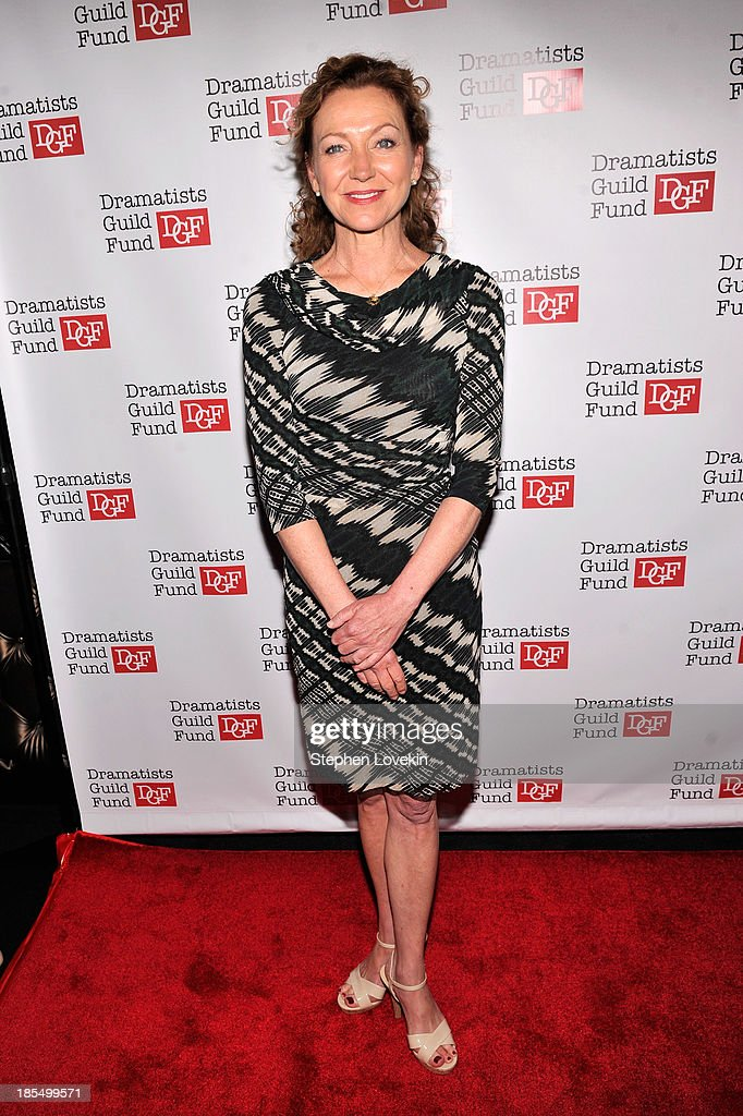Actress <a gi-track='captionPersonalityLinkClicked' href=/galleries/search?phrase=Julie+White&family=editorial&specificpeople=653423 ng-click='$event.stopPropagation()'>Julie White</a> attends the Great Writers Thank Their Lucky Stars annual gala hosted by The Dramatists Guild Fund on October 21, 2013 in New York City.