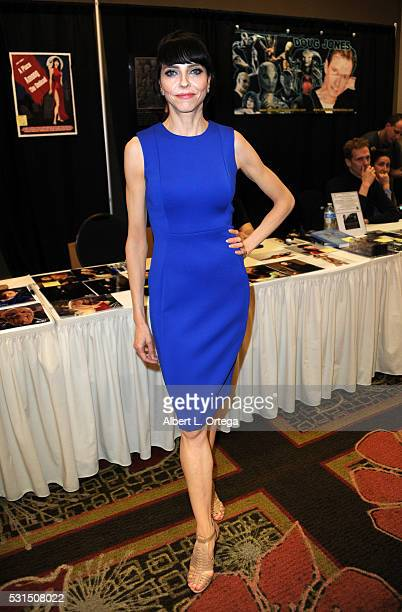 Actress Juliet Landau at the 2016 Whedonopolis Convention held at Airtel Plaza Hotel on May 13 2016 in Van Nuys California
