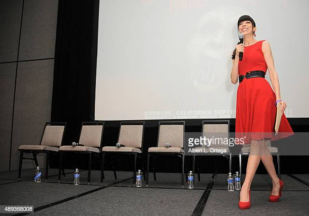 Actress Juliet Landau at the Son Of Monsterpalooza Convention held at Los Angeles Marriott Burbank Airport on September 20 2015 in Burbank California