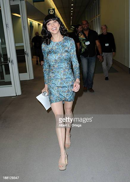 Actress Juliet Landau attends Stan Lee's Comikaze Expo Presented By POW Entertainment Day 1 held at Los Angeles Convention Center on November 1 2013...