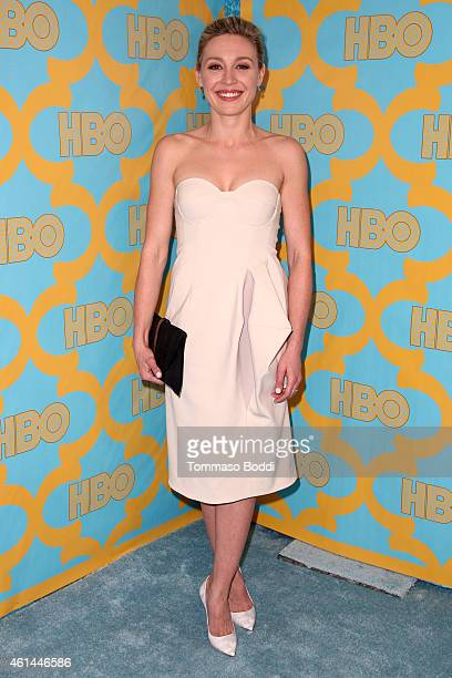 Actress Juliet Rylance attends the HBO'S Post Golden Globe Party held at The Beverly Hilton Hotel on January 11 2015 in Beverly Hills California