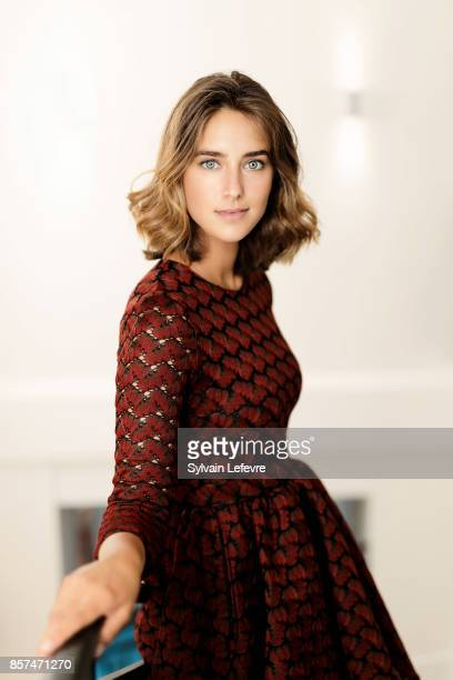 Actress Juliette Aver is photographed for Self Assignment on August 27 2017 in Angouleme France