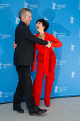 Actress Juliette Binoche and director Bruno Dumont attend the 'Camille Claudel 1915' Photocall during the 63rd Berlinale International Film Festival...