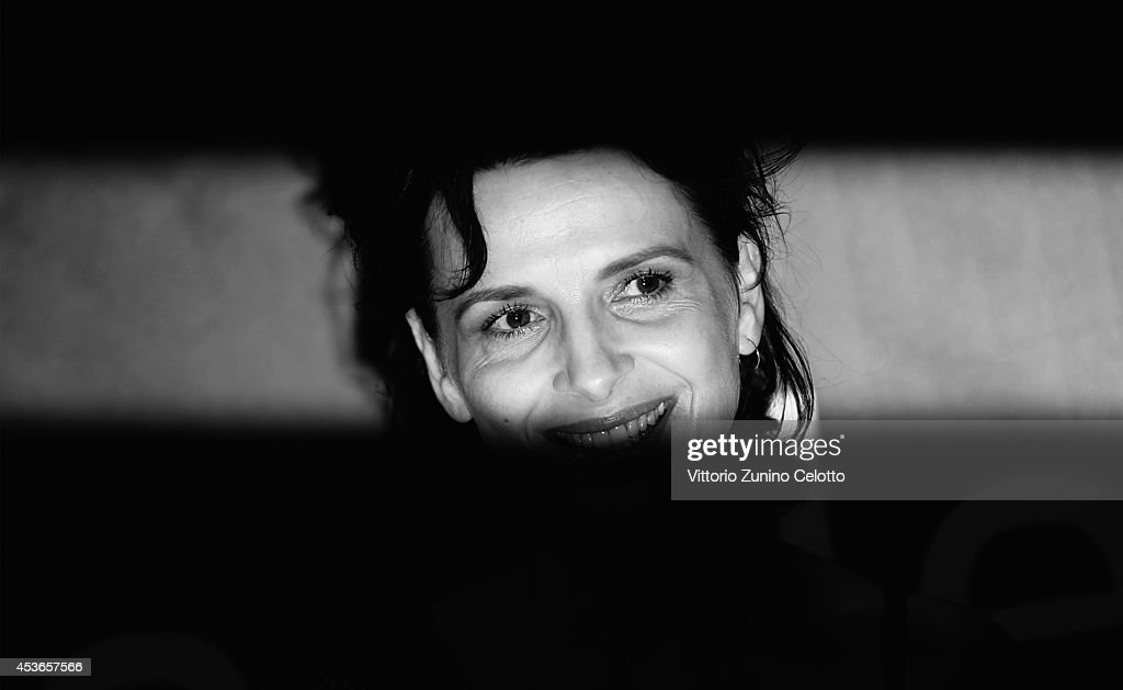 Actress Juliette Binoche attends 'Sils Maria' premiere during the 67th Locarno Film Festival on August 15 2014 in Locarno Switzerland