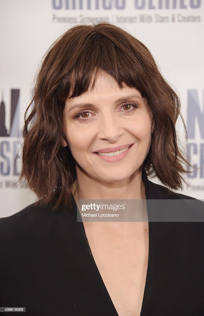 Actress Juliette Binoche attends the '1000 Times Good Night' New York Premiere at AMC Empire on October 7 2014 in New York City
