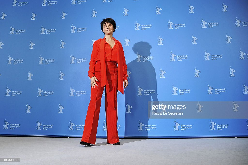 Actress Juliette Binoche attends the 'Camille Claudel 1915' Photocall during the 63rd Berlinale International Film Festival at the Grand Hyatt Hotel on February 12, 2013 in Berlin, Germany.