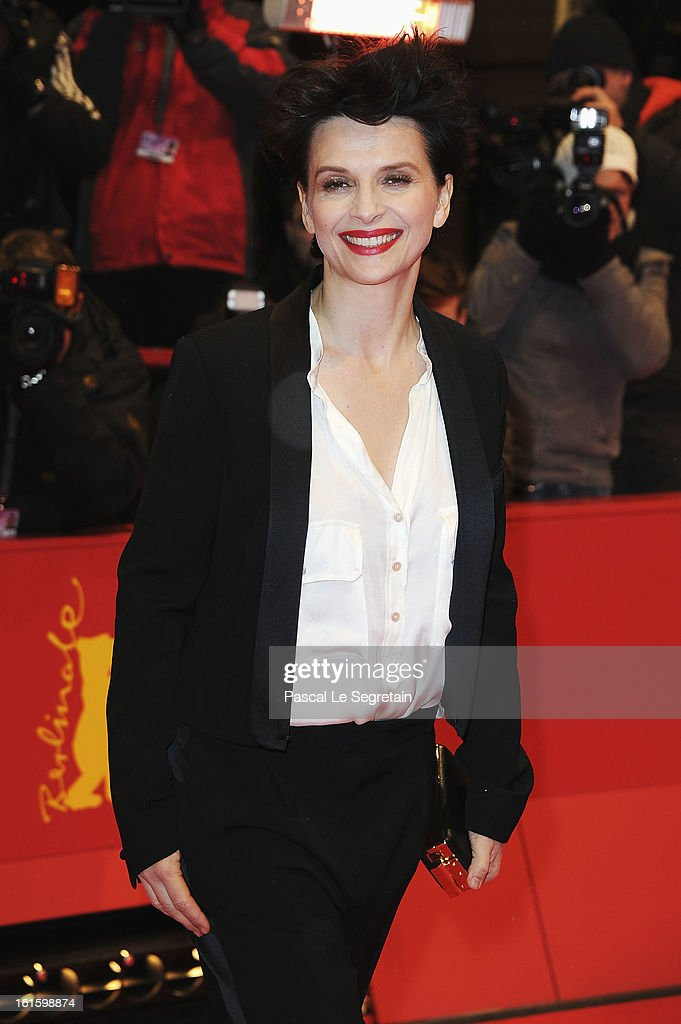 Actress <a gi-track='captionPersonalityLinkClicked' href=/galleries/search?phrase=Juliette+Binoche&family=editorial&specificpeople=209273 ng-click='$event.stopPropagation()'>Juliette Binoche</a> attends the 'Camille Claudel 1915' Premiere during the 63rd Berlinale International Film Festival at Berlinale Palast on February 12, 2013 in Berlin, Germany.