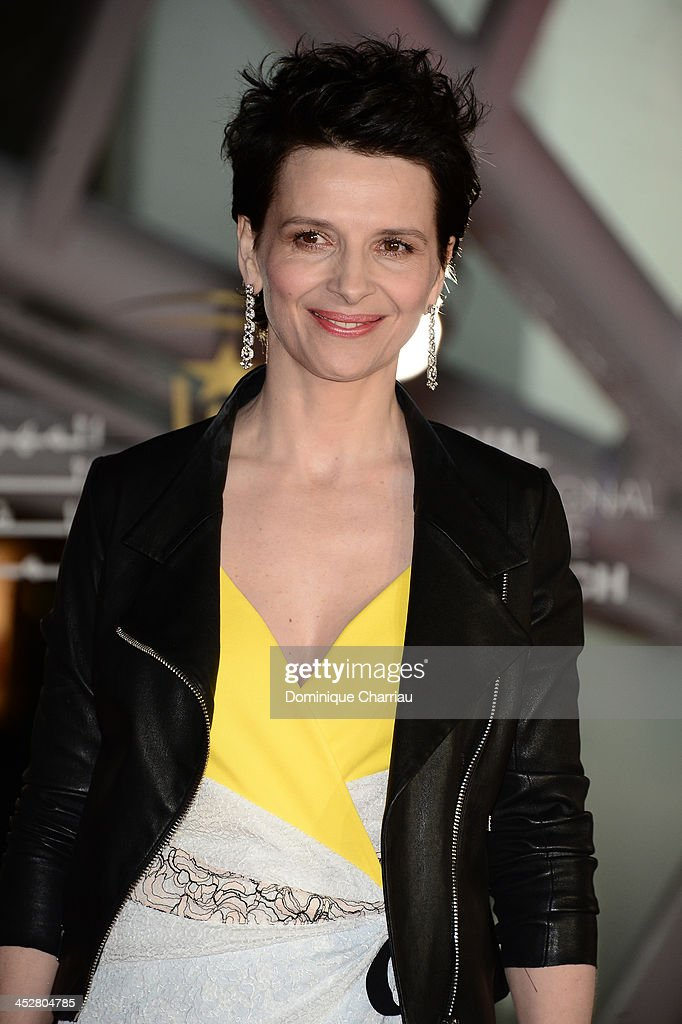 Actress Juliette Binoche attends the 'Like Father, Like Son' premiere during the 13th Marrakech International Film Festival on December 1, 2013 in Marrakech, Morocco.