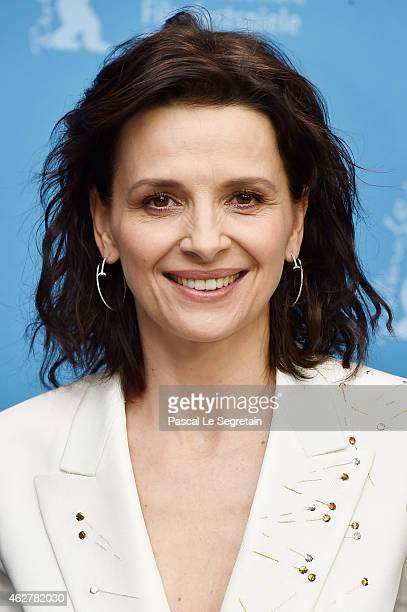 Actress Juliette Binoche attends the 'Nobody Wants the Night' photo call during the 65th Berlinale International Film Festival at Grand Hyatt Hotel...