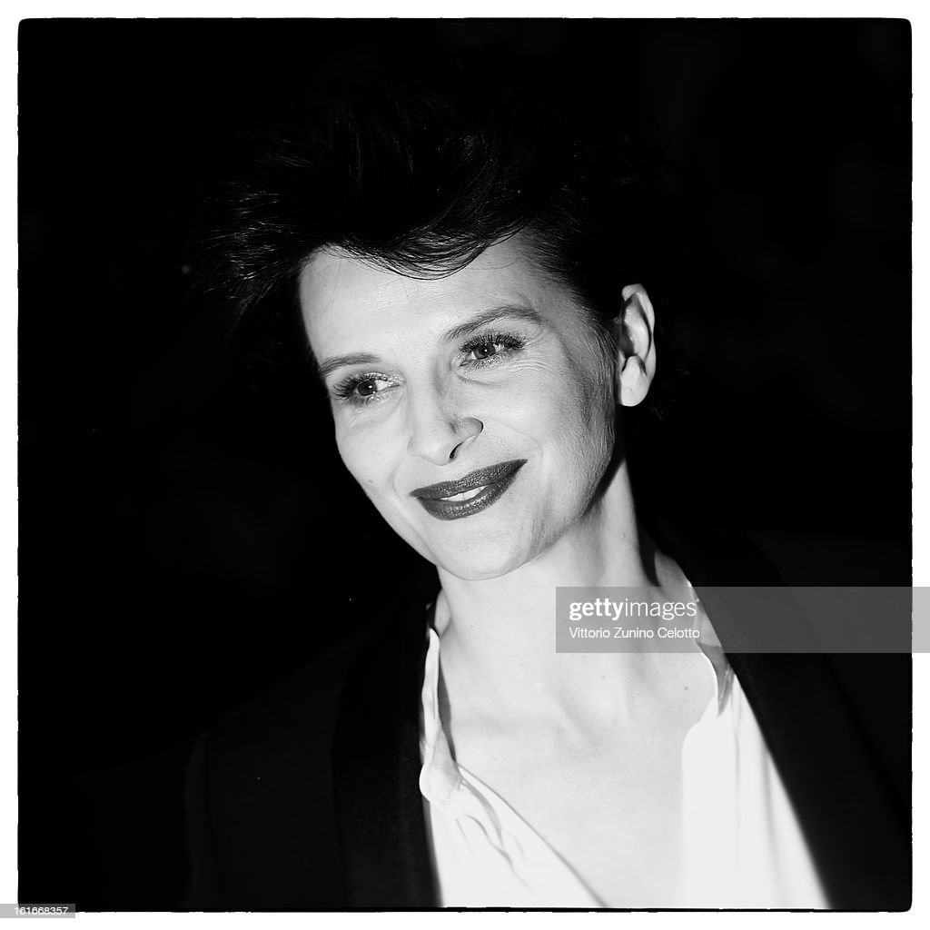 Actress Juliette Binoche during the 63rd Berlinale International Film Festival at Berlinale Palast on February 12, 2013 in Berlin, Germany.