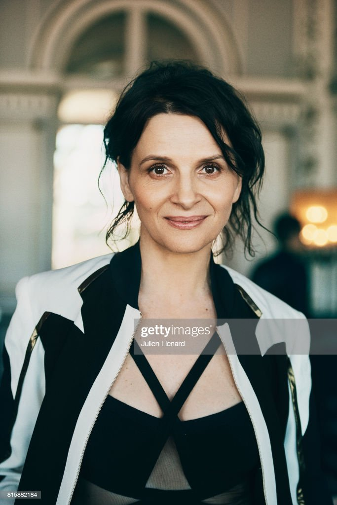 Actress Juliette Binoche is photographed for Self Assignment on June 16, 2017 in Cabourg, France.