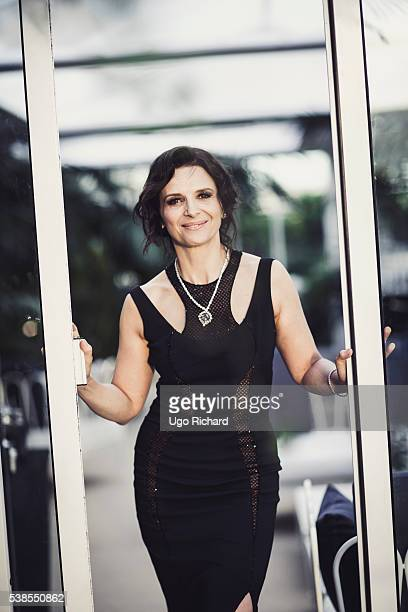 Actress Juliette Binoche is photographed for Self Assignment on May 15 2016 in Cannes France