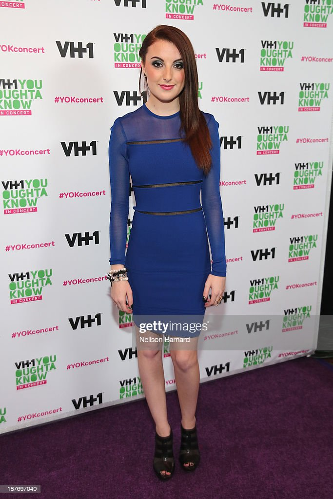 Actress Juliette Goglia attends VH1 'You Oughta Know In Concert' 2013 on November 11, 2013 at Roseland Ballroom in New York City.
