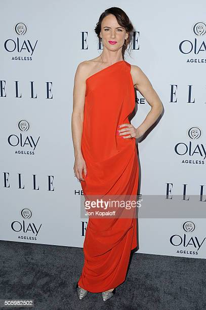 Actress Juliette Lewis arrives at ELLE's 6th Annual Women In Television Dinner at Sunset Tower Hotel on January 20 2016 in West Hollywood California