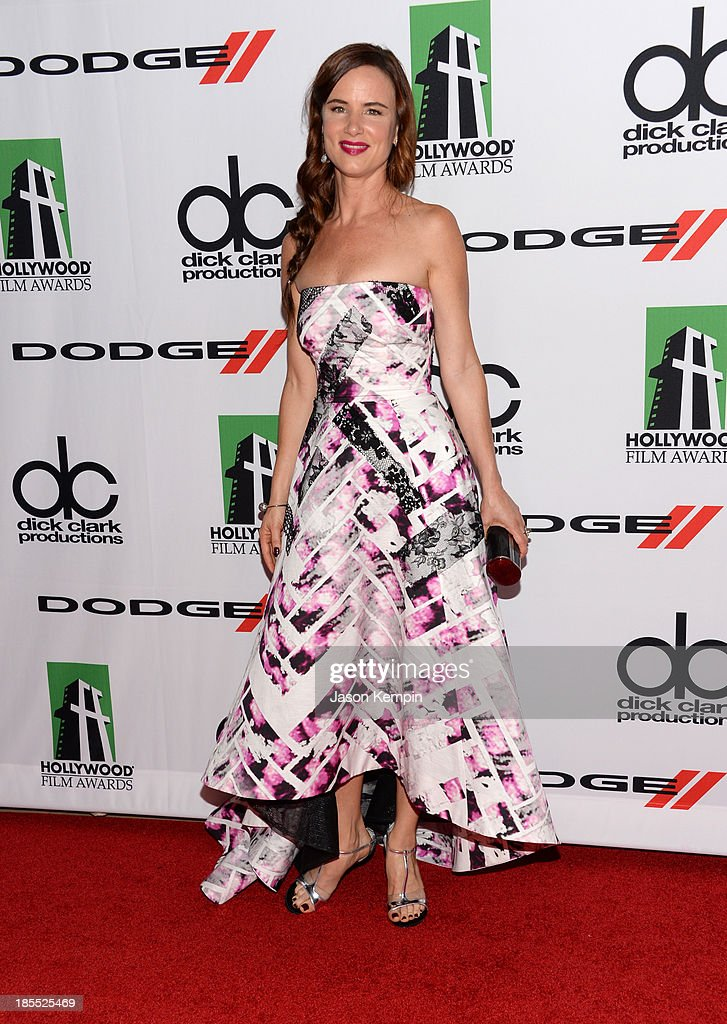 Actress Juliette Lewis arrives at the 17th annual Hollywood Film Awards at The Beverly Hilton Hotel on October 21 2013 in Beverly Hills California