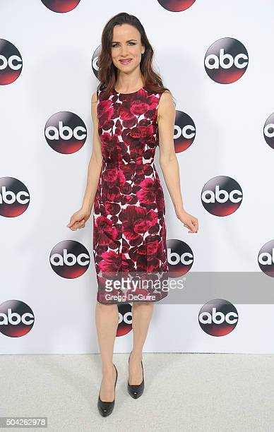 Actress Juliette Lewis arrives at the 2016 Winter TCA Tour Disney/ABC at Langham Hotel on January 9 2016 in Pasadena California