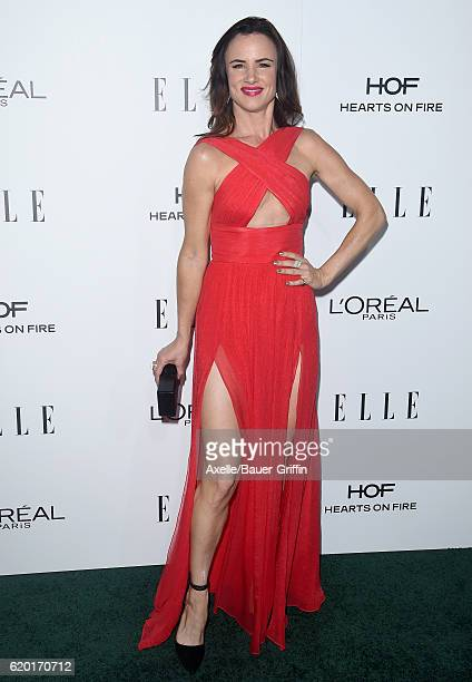 Actress Juliette Lewis arrives at the 23rd Annual ELLE Women In Hollywood Awards at Four Seasons Hotel Los Angeles at Beverly Hills on October 24...