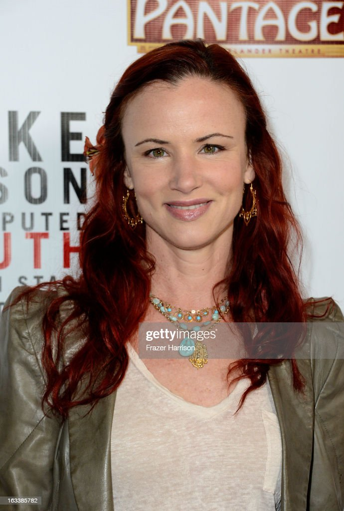 Actress Juliette Lewis arrives at the opening Night Of 'Mike Tyson: Undisputed Truth' At The Pantages Theatre at the Pantages Theatre on March 8, 2013 in Hollywood, California.