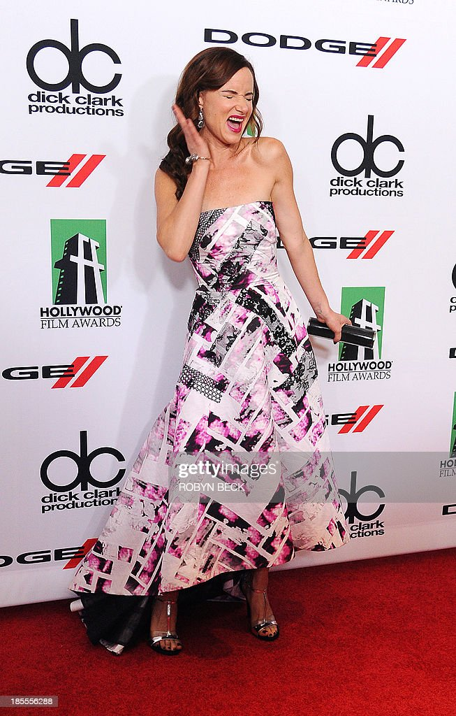 Actress Juliette Lewis arrives for the the 17th Annual Hollywood Film Awards Gala, October 21, 2013 at the Beverly Hilton Hotel in Beverly Hills, California AFP PHOTO / Robyn Beck