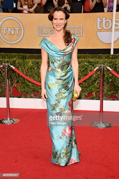 Actress Juliette Lewis attends 20th Annual Screen Actors Guild Awards at The Shrine Auditorium on January 18 2014 in Los Angeles California