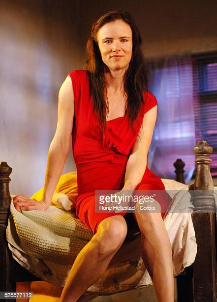 Actress Juliette Lewis attends a photo call for Fool for Love at The Apollo Theatre in London
