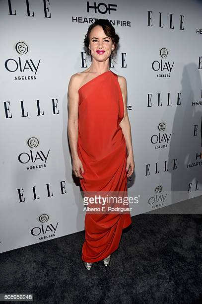 Actress Juliette Lewis attends ELLE's 6th Annual Women in Television Dinner Presented by Hearts on Fire Diamonds and Olay at Sunset Tower on January...