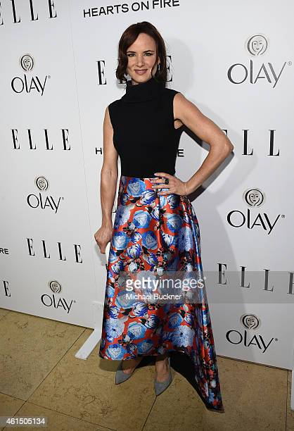 Actress Juliette Lewis attends ELLE's Annual Women in Television Celebration on January 13 2015 at Sunset Tower in West Hollywood California...