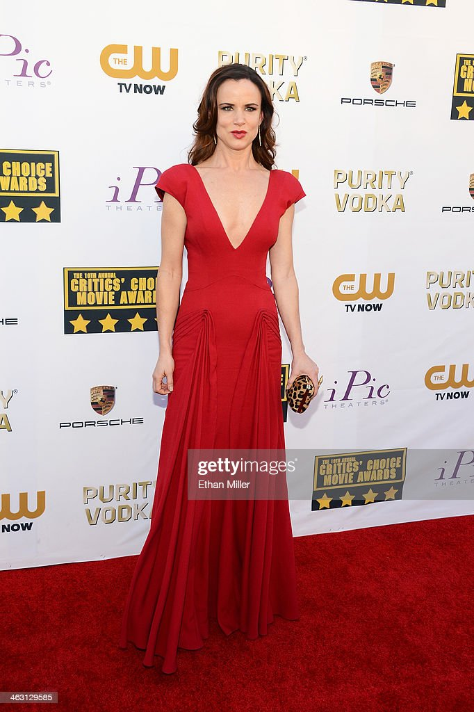 Actress Juliette Lewis attends the 19th Annual Critics' Choice Movie Awards at Barker Hangar on January 16, 2014 in Santa Monica, California.