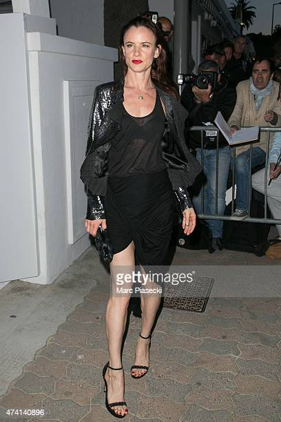 Actress Juliette Lewis attends the 'CHANEL' dinner at 'Tetou' restaurant during the 68th annual Cannes Film Festival on May 20 2015 in Cannes France