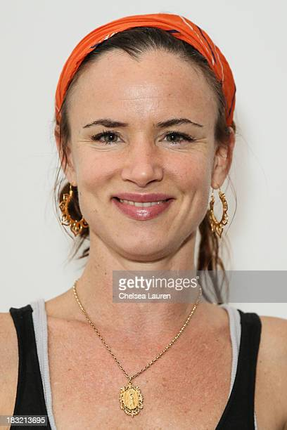 Actress Juliette Lewis attends the opening reception for Mercedes Helnwein's exhibit 'The Trouble With Dreams' at Merry Karnowsky Gallery on October...