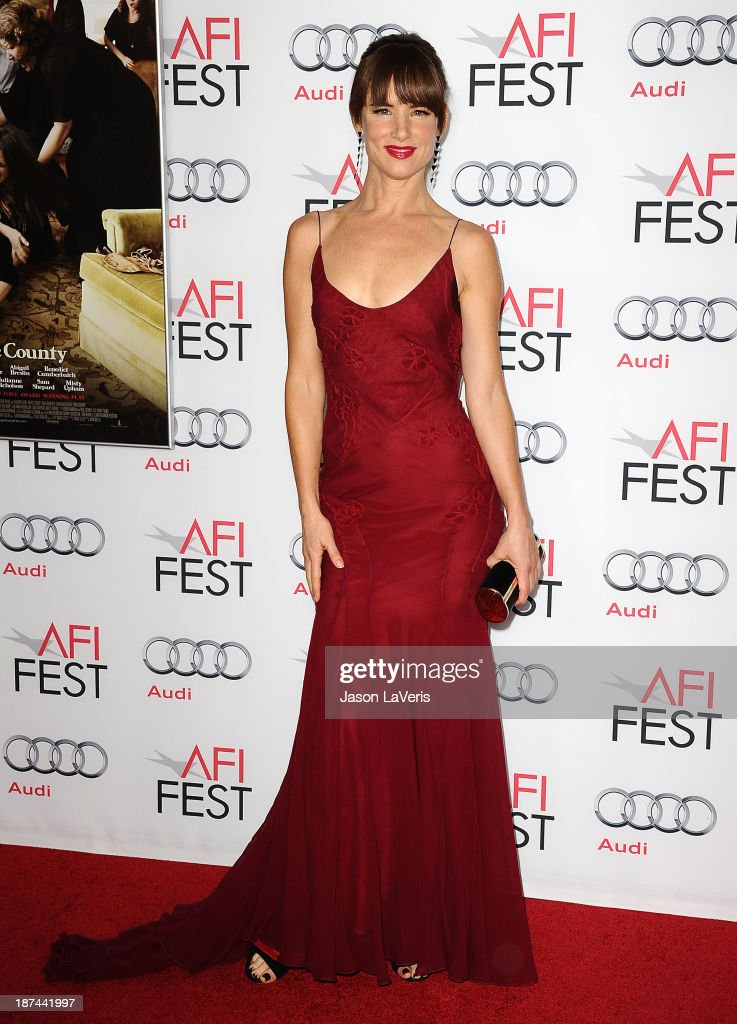 Actress <a gi-track='captionPersonalityLinkClicked' href=/galleries/search?phrase=Juliette+Lewis&family=editorial&specificpeople=202873 ng-click='$event.stopPropagation()'>Juliette Lewis</a> attends the premiere of 'August: Osage County' at the 2013 AFI Fest at TCL Chinese Theatre on November 8, 2013 in Hollywood, California.