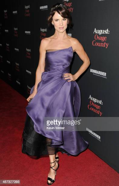 Actress Juliette Lewis attends the premiere of The Weinstein Company's 'August Osage County' at Regal Cinemas LA Live on December 16 2013 in Los...