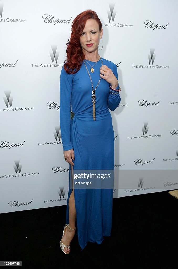 Actress Juliette Lewis attends The Weinstein Company Academy Award Party hosted by Chopard at Soho House on February 23, 2013 in West Hollywood, California.
