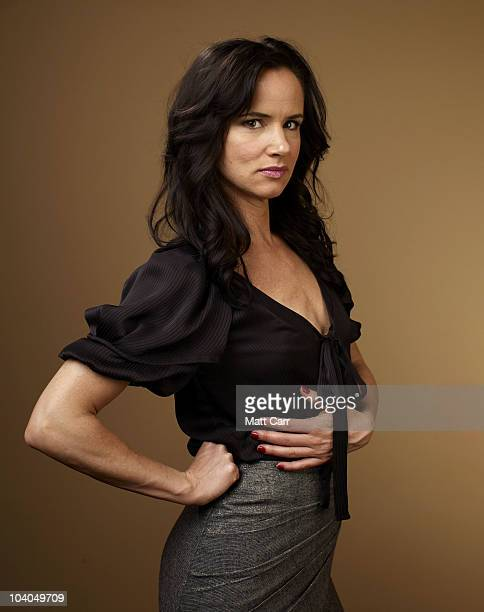 Actress Juliette Lewis from 'Conviction' poses for a portrait during the 2010 Toronto International Film Festival in Guess Portrait Studio at Hyatt...