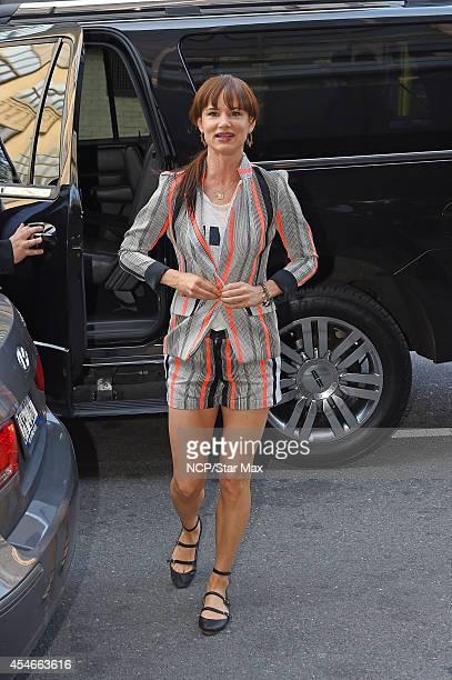Actress Juliette Lewis is seen on September 4 2014 in New York City
