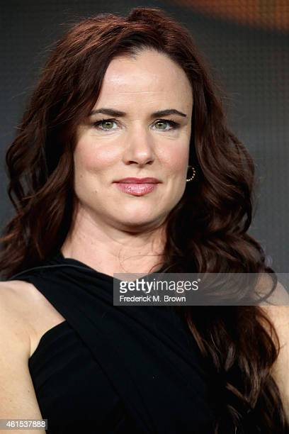 Actress Juliette Lewis onstage during the 'Secrets and Lies' panel at the Disney/ABC Television Group portion of the 2015 Winter Television Critics...