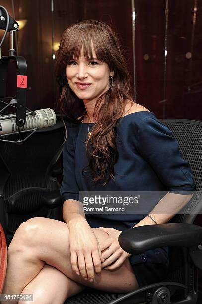 Actress Juliette Lewis visits Alt Nation studios at SiriusXM Studios on September 5 2014 in New York City