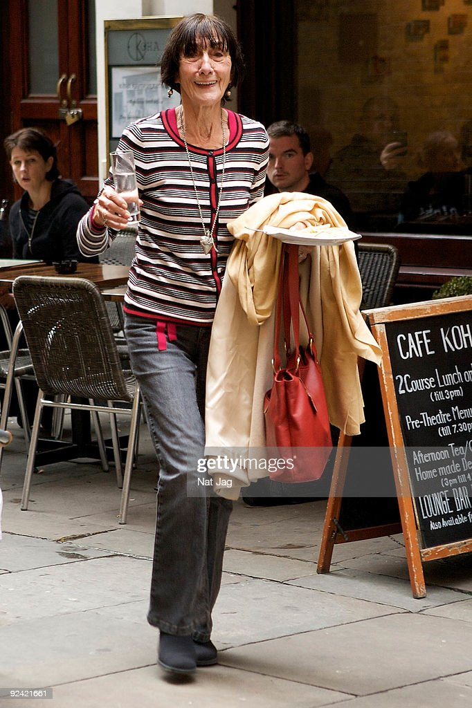 Actress June Brown is seen in Covent Garden on October 28, 2009 in London, England.