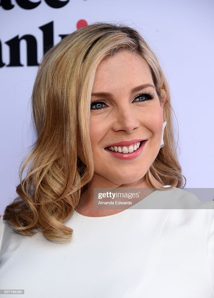 Actress June Diane Raphael arrives at the Netflix Original Series 'Grace & Frankie' Season 2 premiere at the Harmony Gold Theater on May 1, 2016 in Los Angeles, California.