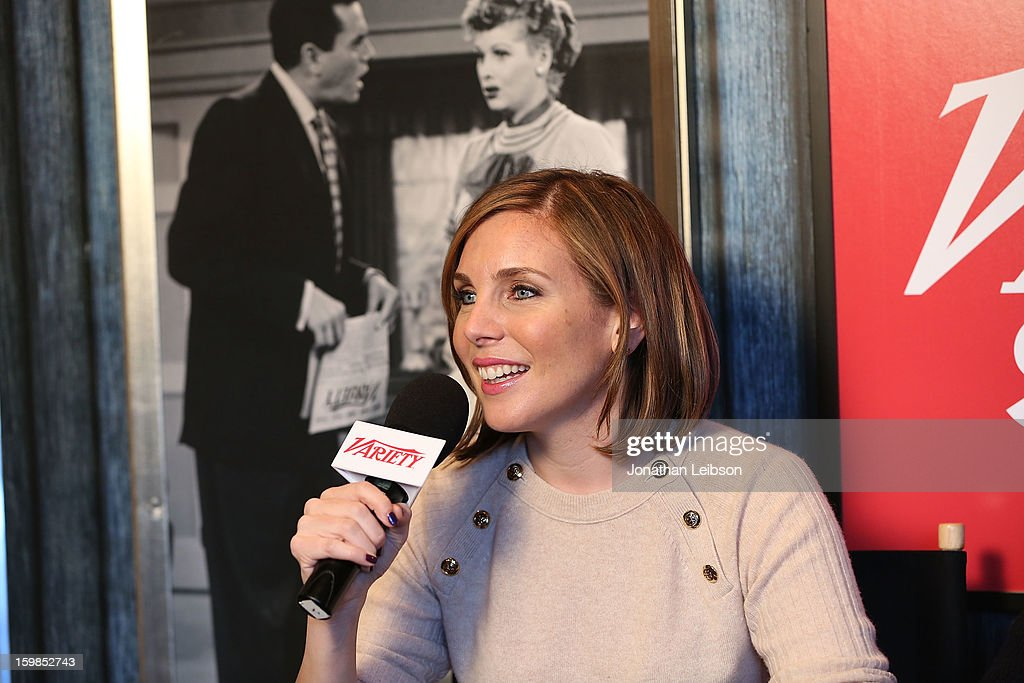 Actress June Diane Raphael attends Day 3 of the Variety Studio At 2013 Sundance Film Festival on January 21, 2013 in Park City, Utah.